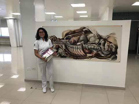 Alumna Tapachulteca Ganó Concurso Nacional de Anatomía