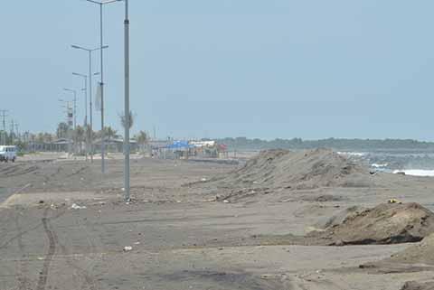 Palaperos de Puerto Madero se Reinstalan en Zonas de Alto Riesgo
