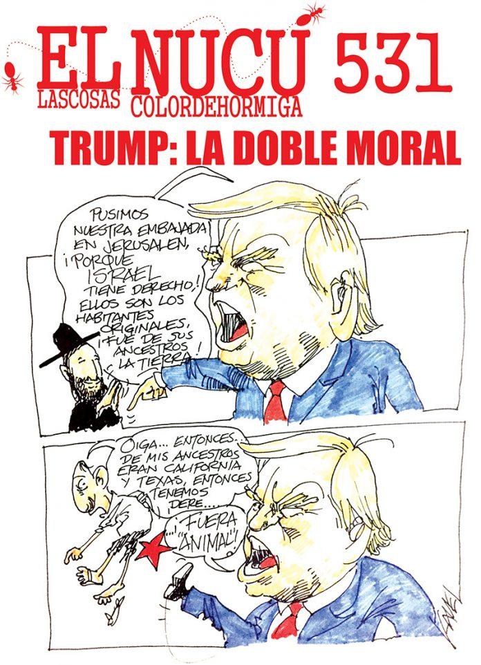 LA DOBLE MORAL DE TRUMP