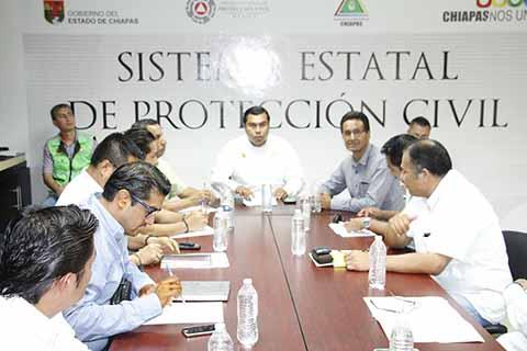 Chiapas Preparado Para la Temporada de Lluvias