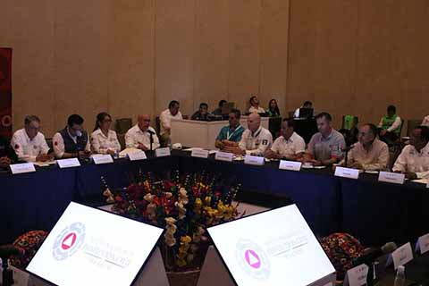 Chiapas Presente en Reunión Nacional de Protección Civil 2018