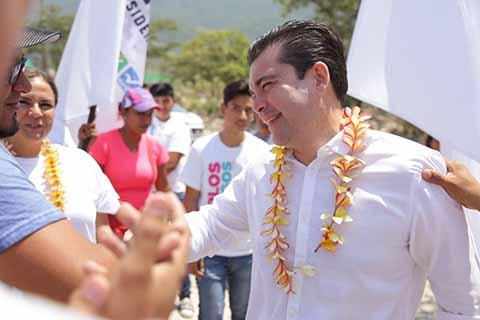 Cierra Filas el PVEM en Cacahoatán