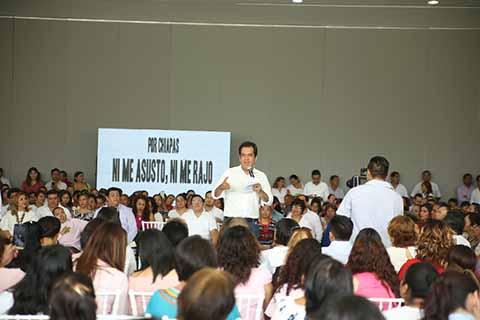 Garantiza Roberto Albores un Gobierno Equitativo
