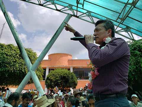 Siltepec Tendrá Todo el Apoyo en Nuestro Gobierno: Rutilio Escandón
