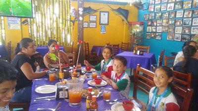 Merecido Reconocimiento a los Niños de la Escuela México