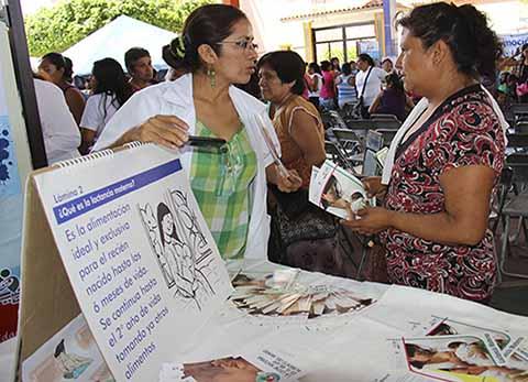 Promueve Salud Lactancia Materna Exclusiva los Primeros Seis Meses de Vida