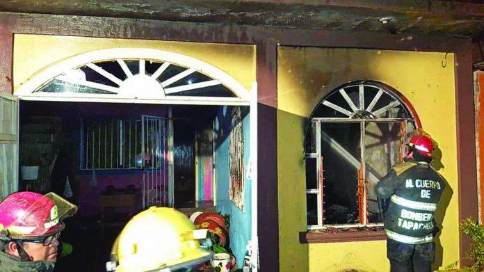 "Se Incendia Casa en Fraccionamiento ""Fray Matías de Córdova"""