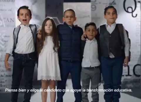 TEPJF Ordena Suspender Spot de Mexicanos Primero