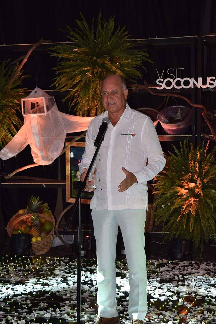 Mario Uvence Rojas, Secretario de Turismo.
