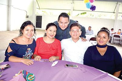 Antonia Martínez, Annel Martínez, Francisco Morales, Tito Álvarez, Francys Martínez.