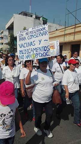 Protestas en el País Durante el Desfile del Día del Trabajo