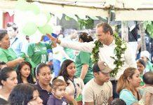 """Vamos a Fortalecer el Programa """"Iluminemos Cacahoatán"""": Carlos Enrique"""