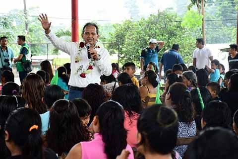 Más y Mejores Acciones Para Cacahoatán: Enrique Álvarez