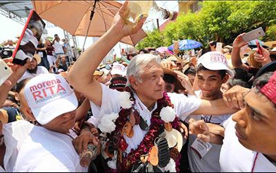 AMLO Pide a Peña Nieto Hacer Labor Diplomática Para Defender el TLCAN