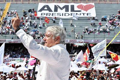 Semivacío el Cierre de Campaña Regional de AMLO en Veracruz