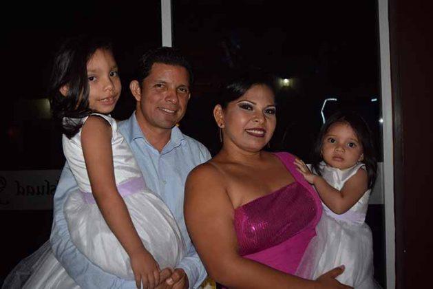 Valentina, Iván, Lourdes, Fernanda Cruz.