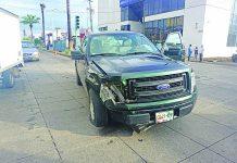 Fuerte Accidente Deja Tres Vehículos Dañados