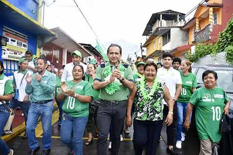 En Cacahoatán Tenemos un Proyecto Sólido: Carlos Enrique