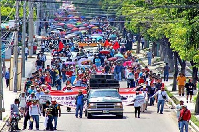 Acuerda CNTE Continuar Paro en Chiapas Planean Ampliar Protestas a Todo el País
