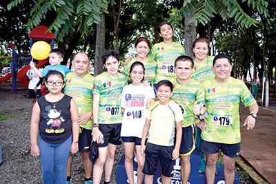 Equipo de corredores Chanona Runners.
