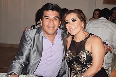 Ricardo Cisneros, Georgina Hernández.