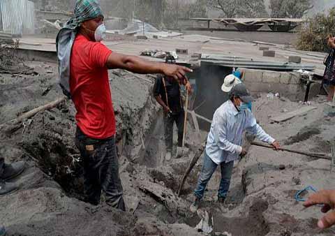 Continúan Suspendidas Labores de Rescate por mal Clima en Guatemala