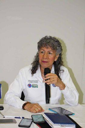 Silvia Ramos, Directora del Instituto de Investigación de Gestión de Riegos de la UNICACH.