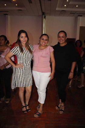 Roxana Colmenero, Paola Domínguez, Paola Padilla.