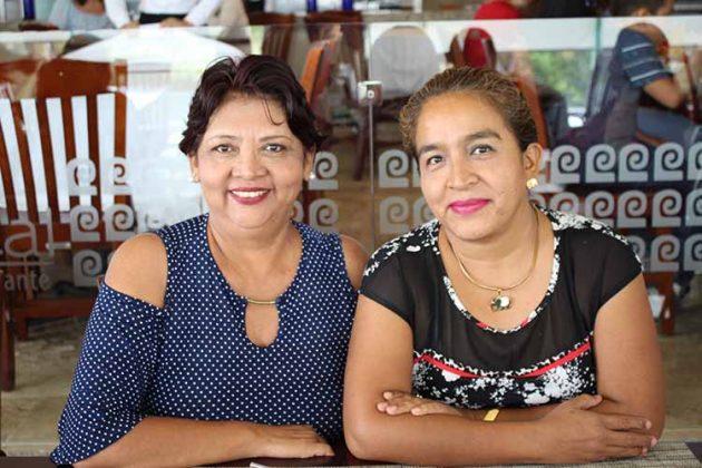 Paquita Vicente, Gladys Rodríguez.