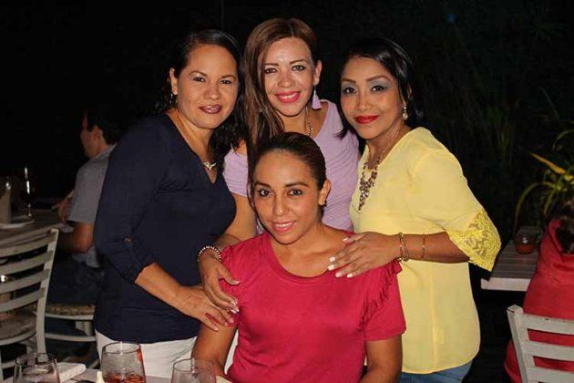 Ove Lepe, Jenifer Trujillo, Yaneth Cabrera, Ana Ruiz.