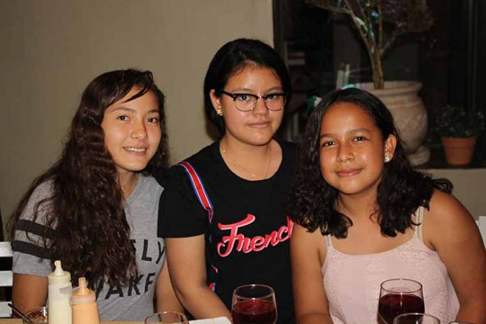 Tavata Añorve, Kelly Orozco, Danna Lizzeth.