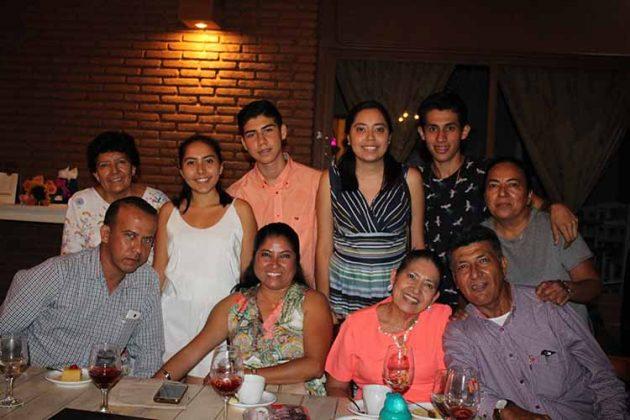Familia Jiménez Barrios.