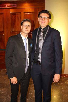 Mario Levet, Emiliano Matus.