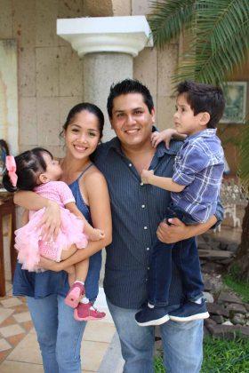 Familia Jiménez Alcaráz.
