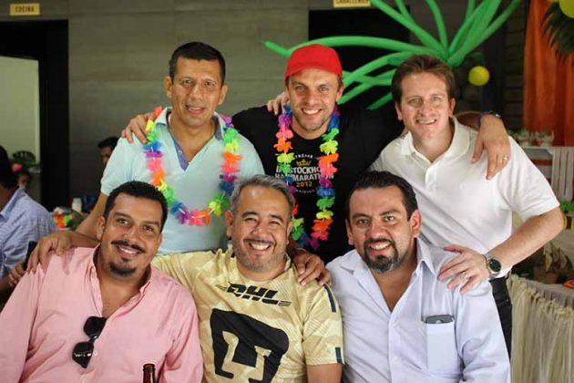Jorge Gordillo, Víctor Alatorre, Hernán Betanzos, Steven Ongenaet, Denny López, Polo Vázquez.