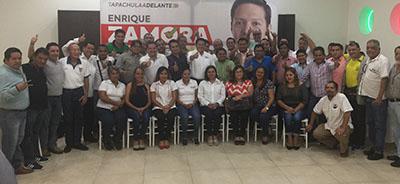 Enrique Zamora Morlet Sostiene Encuentro con Periodistas de Tapachula