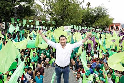 Hoy Fernando Castellanos Cal y Mayor En Gira Proselitista por Tapachula