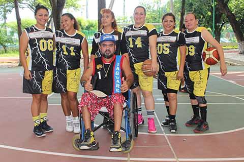 Actividad en el Basquetbol Femenil