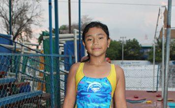Silvia Guerrero, Primer Lugar en el Campeonato Estatal Infantil de Natación