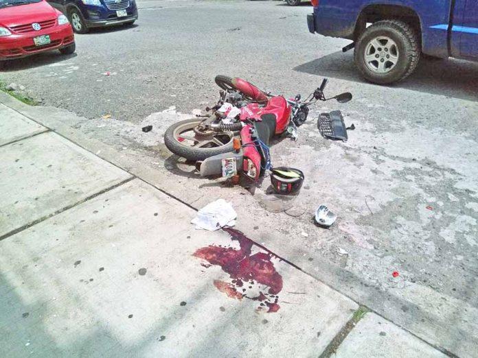Grave Motociclista Arrollado por un Auto