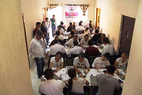 Continúa Conteo, Sellado y Enfajillado de Boletas Electorales Para Tapachula