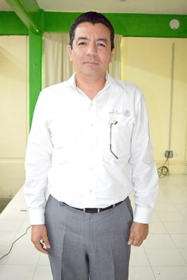 Carlos Calderón, Subdelegado Federal de la Secretaría de Economía.