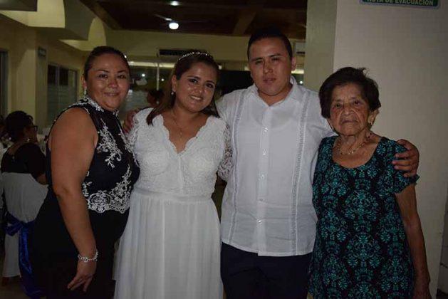 Verónica Ramírez, Nathalia, José Juan, Bertha Domínguez.