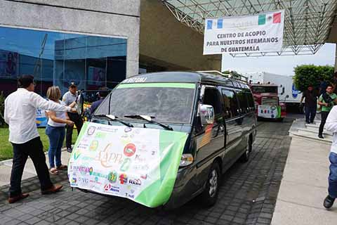Organismos Civiles Envían 20 Toneladas de Ayuda a Guatemala