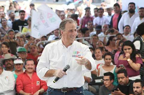 Meade Cerrará Campaña en Coahuila