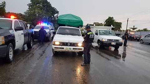 Participan diversas corporaciones como la Policía Federal, Gendarmería, Policía Estatal Preventiva, Tránsito del Estado, Policía Estatal Fronteriza, SEDENA, SEMAR, entre otras.
