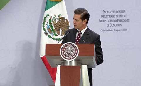 Peña Nieto Garantiza Jornada Electoral Libre y de Respeto
