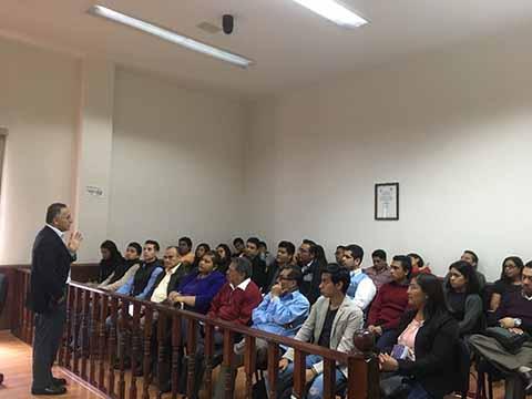 Poder Judicial Contribuye a la Formación de Estudiantes de Derecho de la UNACH
