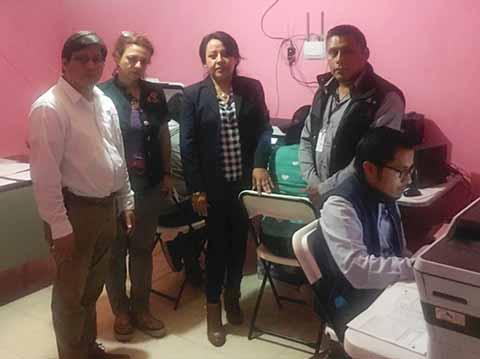 Realiza IEPC Primer Simulacro PREP Para las Elecciones del 01 de Julio
