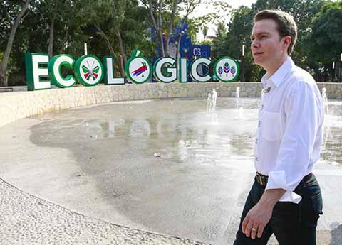 """Con el nuevo Parque """"Los Cerritos"""" En el Soconusco se dignifica el impulso de la activación física"""